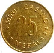 Token - Meral Mini Casino – reverse