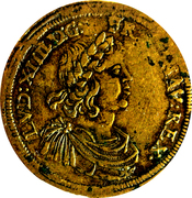 Counter Token - Louis IV (Nuremberg; Conrad Lauffer) – obverse