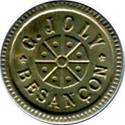 25 Centimes - G.Joly (Besançon) – obverse