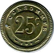 25 Centimes - G.Joly (Besançon) – reverse