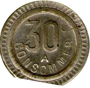 30 Centimes - A Consommer (Dog) – reverse