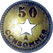 50 Centimes - A Consommer – obverse