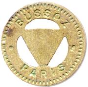 75 Centimes - Bussoz (Paris) – obverse