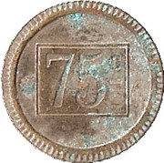 75 Centimes - Coco d'or – reverse