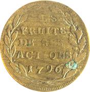 Napoleon Bonaparte  - Les fruits de ses actions – reverse
