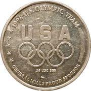 Token - Atlanta 1996 US Olympic Team, General Mills Sponsor (Diving) – reverse