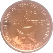 Token - 30 years of Bundeswehr – reverse