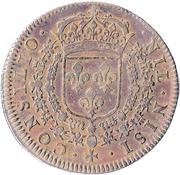 Token - Louis XIV (Conseil du Roi) – reverse
