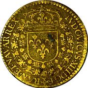 Token - Louis XIII (Hoc Sydere Lilia Florent) – obverse