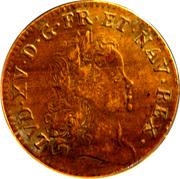 Token - Louis XV (Pacis Firmandae Ereptum Pignus) – obverse