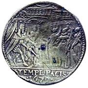 Jeton Louis XIV - TEMPL PACIS – reverse