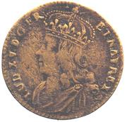 Louis XV - Visanimicum Corpore Crescit – obverse