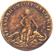 Louis XV - Visanimicum Corpore Crescit – reverse