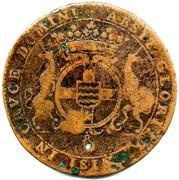 jeton de Bourgogne aux armes d'Antoine de Sercey – obverse