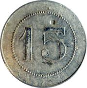 15 Centimes - Nouvelles galeries (Saintes) – reverse