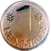 1 Heine-Taler - Heine Apotheke – reverse