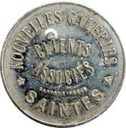 25 Centimes - Nouvelles galeries (Saintes) – obverse