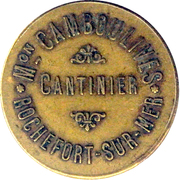 50 centimes - M. Camboulives - Cantinier - Rochefort [17] – obverse