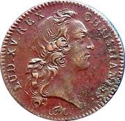 Token - Louis XV (Ut Iterum Fluant) – obverse