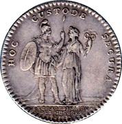 Extraordinaire des guerres Louis XV – reverse