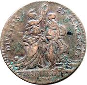 Token - Louis XV – reverse