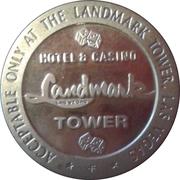 1 Dollar Gaming Token - Landmark Casino (Las Vegas, Nevada) – obverse