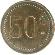 50 Centimes – obverse