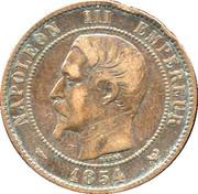 Lille Chamber of Commerce token - Napoleon III – obverse