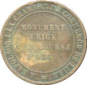 Lille Chamber of Commerce token - Napoleon III – reverse