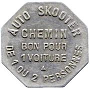 Bon pour 1 Voiture - AUTO SKOOTER CHEMIN – reverse