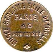 5 Centimes - Musée Scolaire Emile Deyrolle - Paris [75] – obverse
