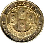 1 Centime - H. Pussey - Paris [75] – obverse
