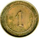 1 Centime - H. Pussey - Paris [75] – reverse
