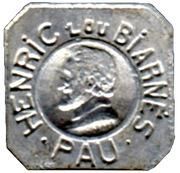 5 Centimes - Henric Lou Biarnes - Pau [64] – obverse