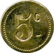 5 Centimes - Au Printemps - Ch.Desplats -Castres [81] – reverse