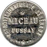 5 Centimes Approvisionnements Généraux, Michau -  Pussay [91] – obverse