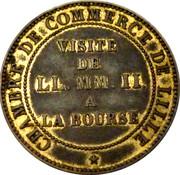Napoléon III Chambre de commerce Lille – reverse