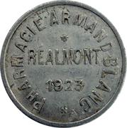 10 Centimes - Pharmacie Armand Blanc - Réalmont [81] – obverse