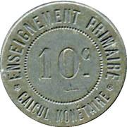 10 Centimes - Musée Scolaire Emile Deyrolle - Paris [75] – reverse
