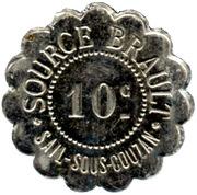 10 Centimes - Source Brault - Sail-sous-Couzan [42] – obverse