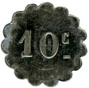 10 Centimes - Source Brault - Sail-sous-Couzan [42] – reverse