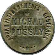 10 Centimes - Approvisionnements Généraux Pussay [91] – obverse