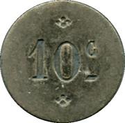 10 Centimes - Approvisionnements Généraux Pussay [91] – reverse