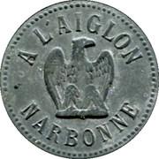 10 Centimes - A l'Aiglon - Narbonne [11] – obverse