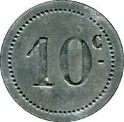 10 Centimes - A l'Aiglon - Narbonne [11] – reverse