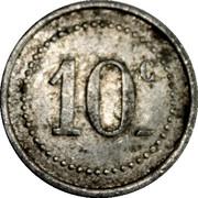 10 Centimes - Pharmacie Dauzet Mouy – reverse