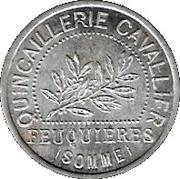 10 Centimes - Quincaillerie Cavallier - Feuquiéres [80] – obverse