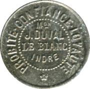 5 Centimes - Maison J. Duval - Le Blanc [36] – obverse