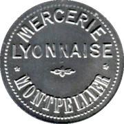 10 Centimes - Mercerie Lyonnaise - Montpellier [34] – obverse