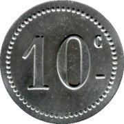10 Centimes - Mercerie Lyonnaise - Montpellier [34] – reverse